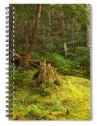 Cheakamus Rainforest Floor Spiral Notebook