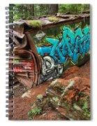 Cheakamus River Train Derailment Spiral Notebook