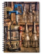 Check Your Oil Spiral Notebook