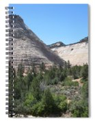 Checkerboard Mesa Spiral Notebook