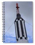 Checkered Spiral Notebook