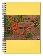 Checkers Spiral Notebook
