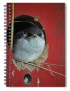 Checkin Me Out Spiral Notebook