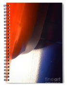 Cheeky But In Patriotic Colous  Spiral Notebook