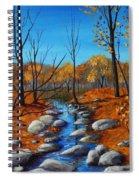 Cheerful Fall Spiral Notebook