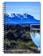 Cheers To Iceland Spiral Notebook