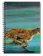 Cheetah Run Spiral Notebook