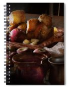 Chef - Food - A Tribute To Rembrandt - Apples And Rolls  Spiral Notebook