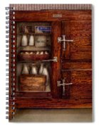Chef - Fridge - The Ice Chest  Spiral Notebook