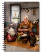 Chef - Kitchen - Cleaning Cherries  Spiral Notebook