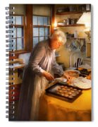 Chef - Kitchen - Coming Home For The Holidays Spiral Notebook