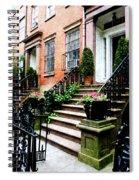 Chelsea Brownstone Spiral Notebook