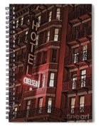 Chelsea Hotel Spiral Notebook