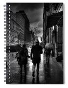Chelsea Rain Spiral Notebook