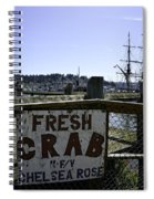 Chelsea Rose Crab Spiral Notebook