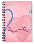 Chemical Thermodynamic Equation For Love 2 Spiral Notebook