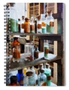 Chemistry - Bottles Of Chemicals Spiral Notebook