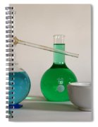 Chemistry Class Spiral Notebook