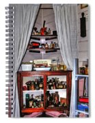 Chemist's Corner - Remedies And Potions Spiral Notebook