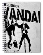 Chequebook Vandal Spiral Notebook