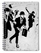 Chequebook Vandalism Spiral Notebook