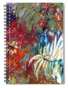 Cherchez La Femme Spiral Notebook