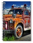 Cherokee Fire Truck Spiral Notebook