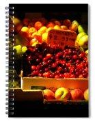Cherries 299 A Pound Spiral Notebook