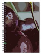 Cherries Abstract Spiral Notebook