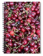 Cherries In Des Moines Washington Spiral Notebook