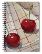 Cherry Talk By Irina Sztukowski Spiral Notebook