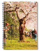 Cherry Blossoms 2013 - 009 Spiral Notebook