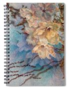 Cherry Blossoms N Lace Spiral Notebook