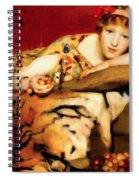 Cherry Girl Spiral Notebook