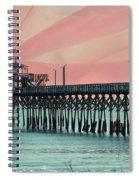 Cherry Grove Fishing Pier Spiral Notebook