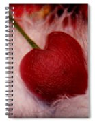Cherry Heart Spiral Notebook