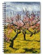 Cherry Trees 3.0 Spiral Notebook