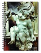 Cherub At Play Spiral Notebook