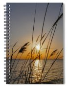 Chesapeak Bay At Sunrise Spiral Notebook