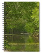 Chesapeake And Ohio Canal Towpath Spiral Notebook
