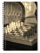 Chess Game Spiral Notebook