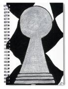Chess Pawn Spiral Notebook