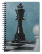 Chess Pieces Spiral Notebook