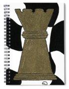 Chess Queen Spiral Notebook
