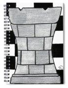 Chess Rook Spiral Notebook