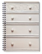 Chest Of Drawers Spiral Notebook
