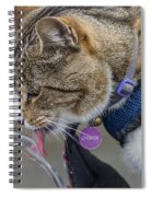 Chester At The Drinking Fountain Spiral Notebook