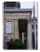 Chester County Court House-side View Spiral Notebook