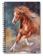 Chestnut Beauty Spiral Notebook