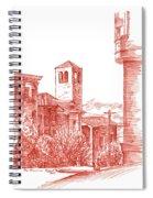 Chestnut Street In San Francisco  Spiral Notebook
